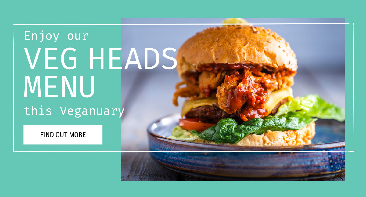 Veg Heads this Veganuary at The Phoenix